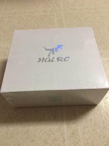 HGLRC XJB 145の箱