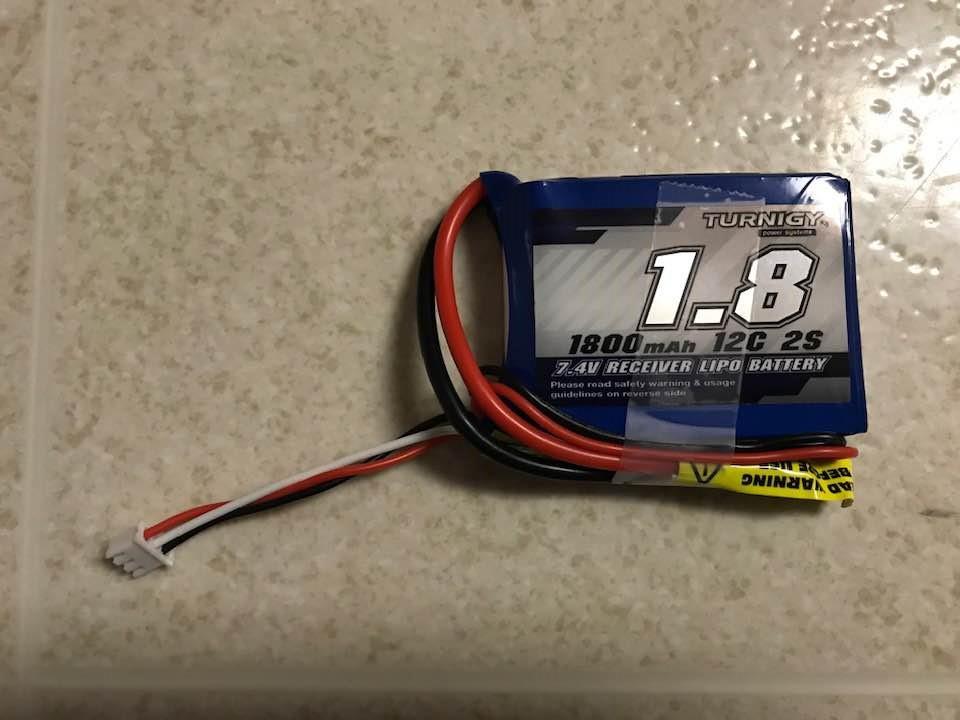 Jumper T8SG V2.0 Plus用バッテリー