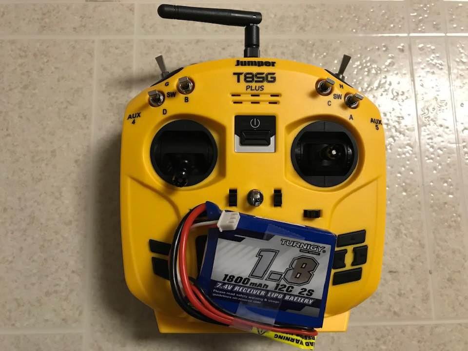 Jumper T8SG V2.0 Plus2用バッテリー