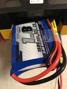 Jumper T8SG V2.0 Plusへバッテリーを縦に入れる