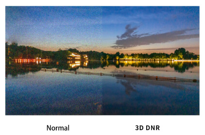デジタルノイズリダクション機能(3D DNR)